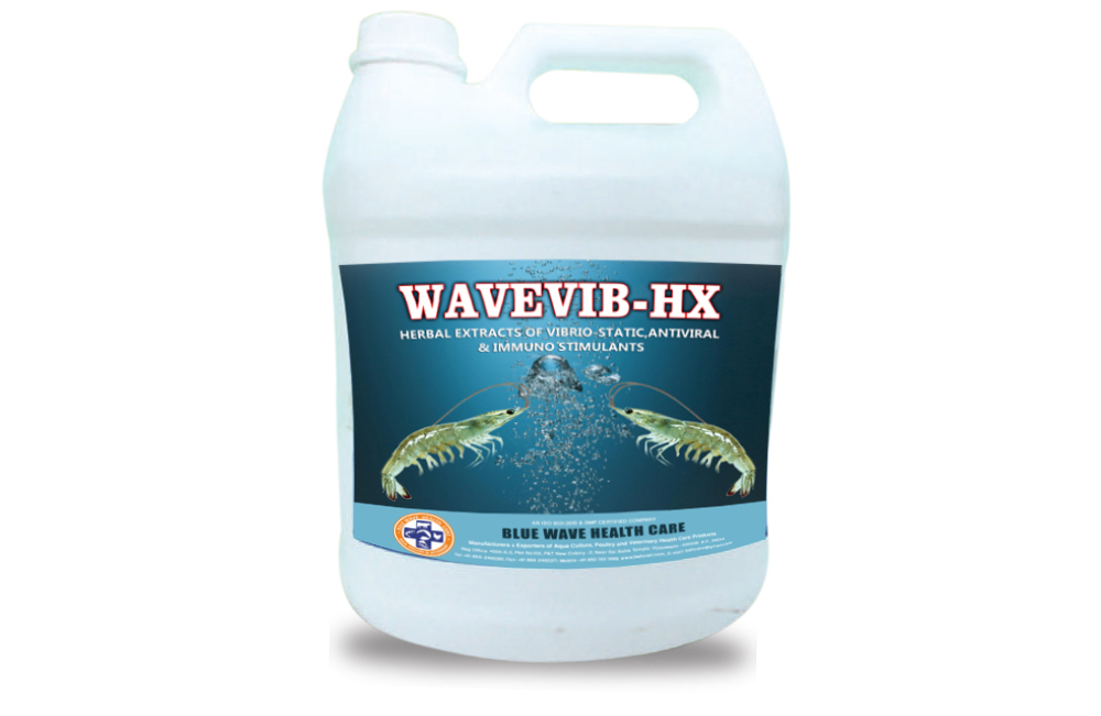 WAVEVIB-HX (Herbal extracts of vibrio-static,antiviral & immuno stimulants)