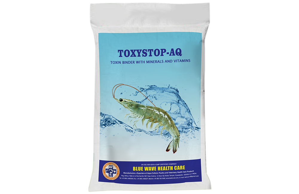 TOXYSTOP-AQ (Toxin Binder with Minerals and vitamins)