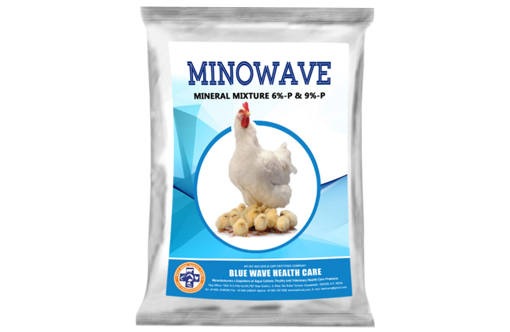 MINOWAVE  (Mineral Mixture 6%-P & 9%-P)