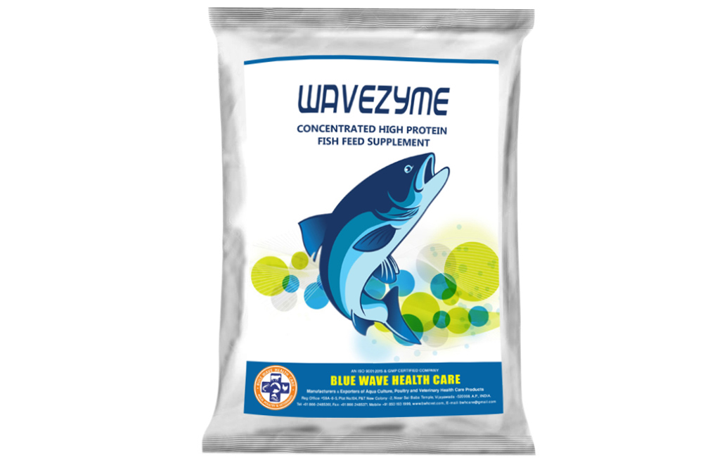 WAVEZYME ( Concentrated high protein fish feed supplement)